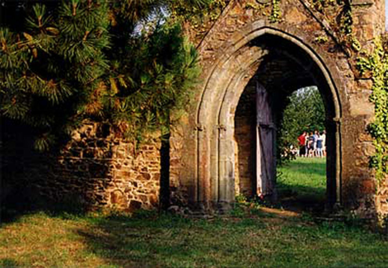 Porte jardin
