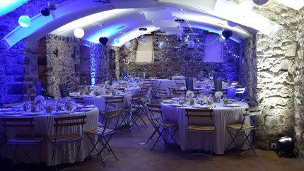 décoration mariage thème bleu